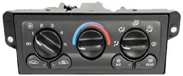 Chevy Car AC Control Panel