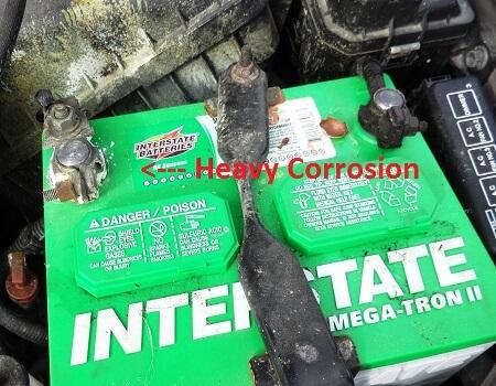 neglected battery maintenance